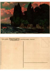 CPA Einsame Gestade Meissner & Buch Litho Serie 1441 (730540)