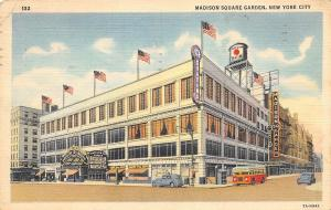 New York City~Madison Square Garden~1941 Postcard