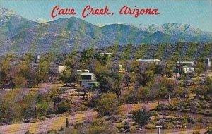 Arizona Cave Creek Aerial View