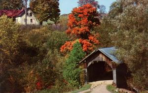 VT - Stowe. Stowe Hollow Covered Bridge