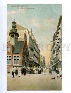 158301 Belgium BLANKENBERGHE Theatre rue l'Eglise BAZAR OLD PC