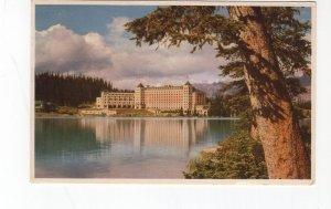 1952 postcard, Chateau Lake Louise, Banff National Park Canada