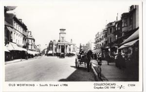 Sussex; Old Worthing, South St c 1906 No C1054 RP PPC By Pamlin
