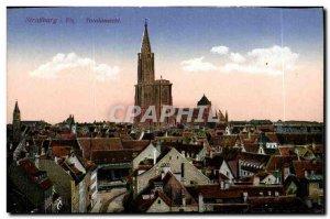 Postcard Old Strasbourg Totalansicht