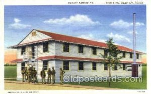 Scott Field, Belleville, Illinois, USA Military Linen Postcard Postcards Scot...
