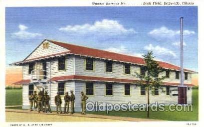 Scott Field, Belleville, Illinois, USA Military Linen Unused