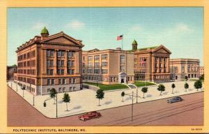 Maryland Baltimore Polytechnic Institute Curteich