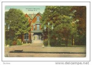 Governor's Mansion, Raleigh, North Carolina,1912