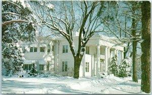 Naperville, Illinois Postcard WILLOWAY MANOR Restaurant Route 65 Roadside c1960s