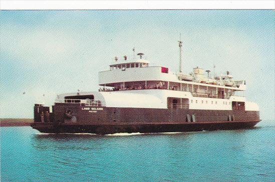 Canada Ferry M V Lord Selkirk Between Wood Island Prince Edward Island and Ca...