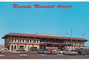 Municipal Airport , RIVERSIDE , California , 50-60s
