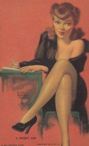 Pin-up A sweet job , 1930s