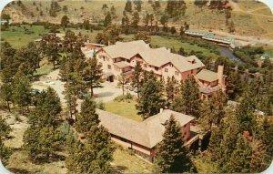 Birdseye Crags Estes Park Colorado Postcard Lodge Sanborn Dexter 20-11810