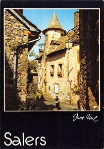 BR54070 Salers cite medievale france