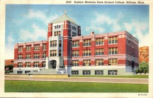 Montana Billings Eastern Montana State Normal College Curteich