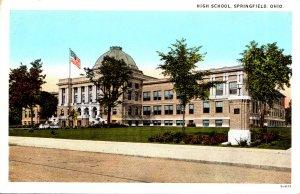 Ohio Springfield High School Curteich