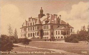 Washington Seattle Denny Hall University of Washington