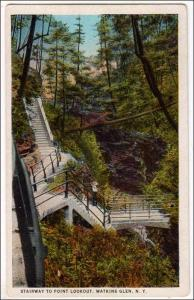 Stairway to Point Lookout, Watkins Glen NY