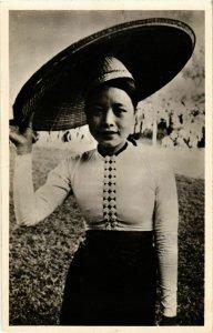 CPA AK INDOCHINA Une Thai blanche VIETNAM (956525)