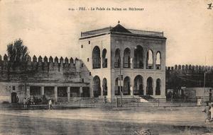Morocco Fez Le Palais du Sultan au Mechouar Palace Postcard