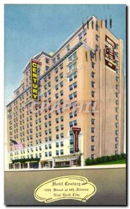 Postcard Old Hotel Century East of Broadway New York