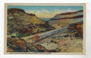 1653 Santa Fe Streamliner    CANCELED Train Clerk