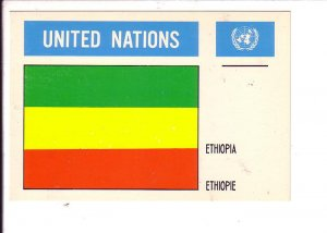 Ethiopia, Flag, United Nations