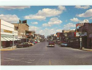 Vintage Post Card Clayton Highway J C Penny Luna Theater JCT 64  N M   # 4237