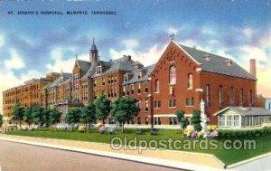 St Joseph's Hospital Memphis, TN, USA Postcard Post Cards Old Vintage An...