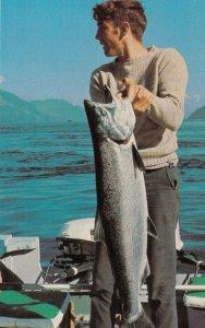 BIG BAY MARINO , B.C., Canada , 40-60s ; Fish catch