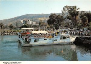 BC59633 bateaux boats in Tiberias