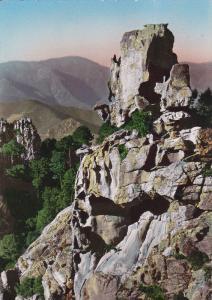 RP: La Corse , Ile de Beaute - PIANA - La Chimere des Calanche , France , 30-50s