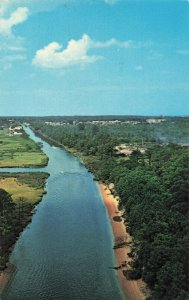 Postcard Lewes Canal Rehoboth Delaware