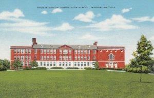 MARION, Ohio, 1930-40s; Thomas Edison Junior High School