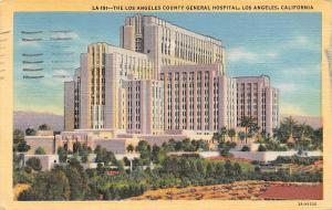 California, Los Angeles, The Los Angeles County General Hospital 1955