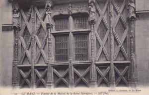 LE MANS, Fenetre da la Maison de la Reine Berengere, Sarthe, France, 00-10s