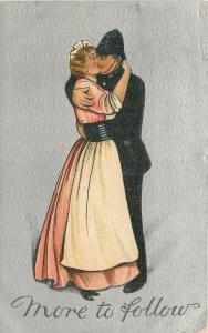 BB London~Policeman Embraces Pretty Maid~More To Follow~Silver~Ser 2130~Saxony