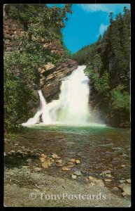 Cameron Falls - Waterton Lake Parks