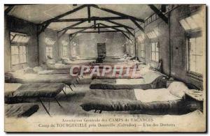 Old Postcard Camp near Tourgeville Deauville L & # 39un dormitories Vacation ...
