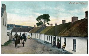 Ireland    Irish Village Scene