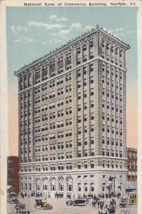 National Bank of Commerce , NORFOLK , Virginia , 1910s
