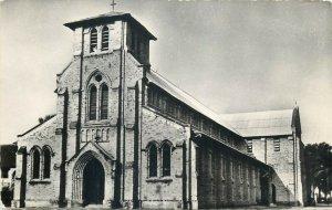 Belgian Congo ( Congo Belge ) Leopoldville Ste. Anne Cathedral photo postcard