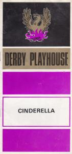 Cinderella Pantomime Malcolm Sircom Derby 1970s Theatre Playhouse Programme