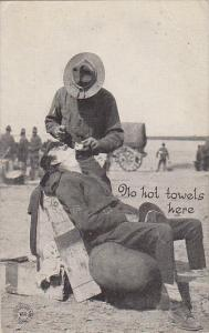 Military Not Hot Towels Here Shaving In The Field 1920