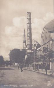 Turkey Constantinople Colonne Brulle Photo