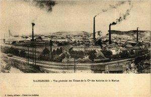 CPA Saint Chamond- vue generale des Usines de la Cie FRANCE (907174)