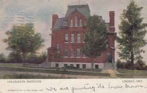 LINDSAY , Ontario, Canada, 1907 ; Collegiate Institute