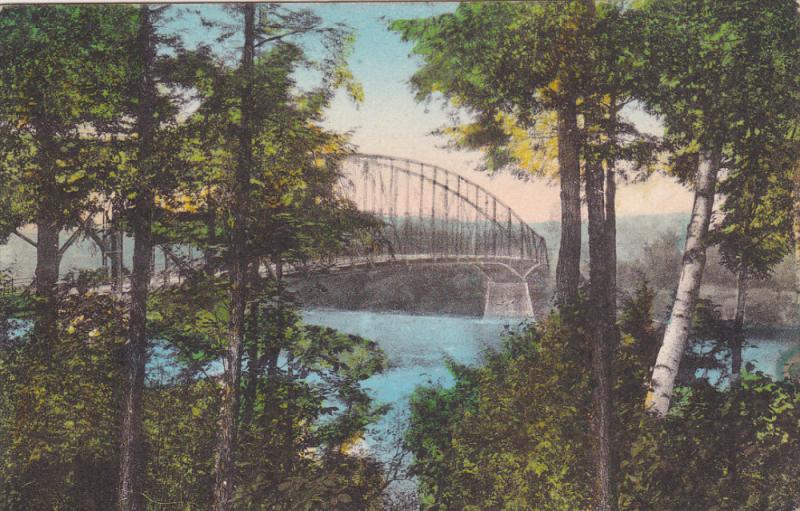 Schell Memorial Bridge , EAST NORTHFIELD , Massachusetts , 20-30s