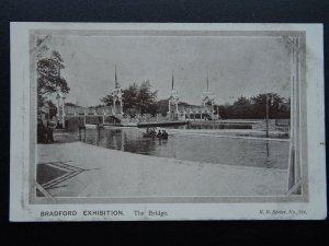 Yorkshire BRADFORD EXHIBITION The Bridge c1904 Postcard by R.B. Series