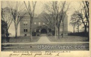 Grammar School Somerville NJ 1906
